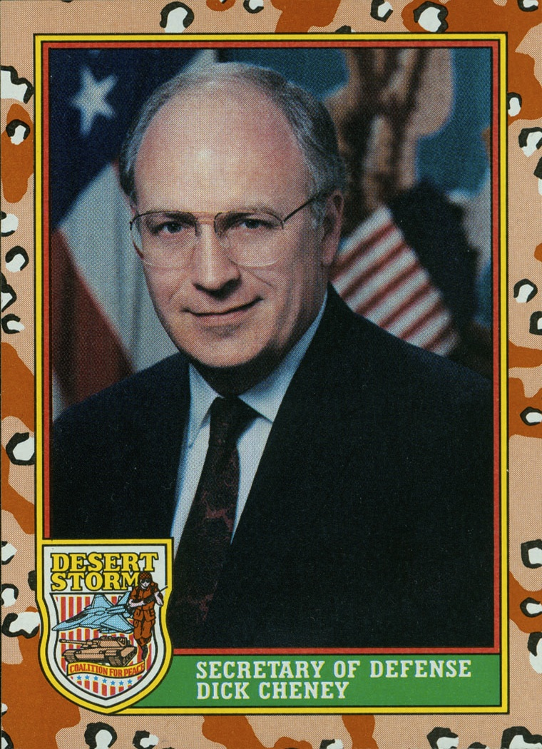 A dashing young Dick Cheney with menacing grin.